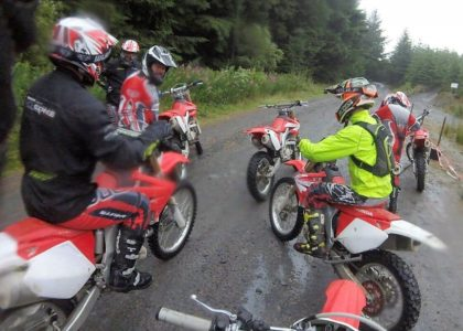 motocross days, wales road track
